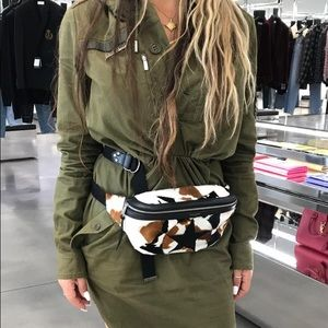 Saint Laurent Calf Hair Belt Bag - Limited Edition